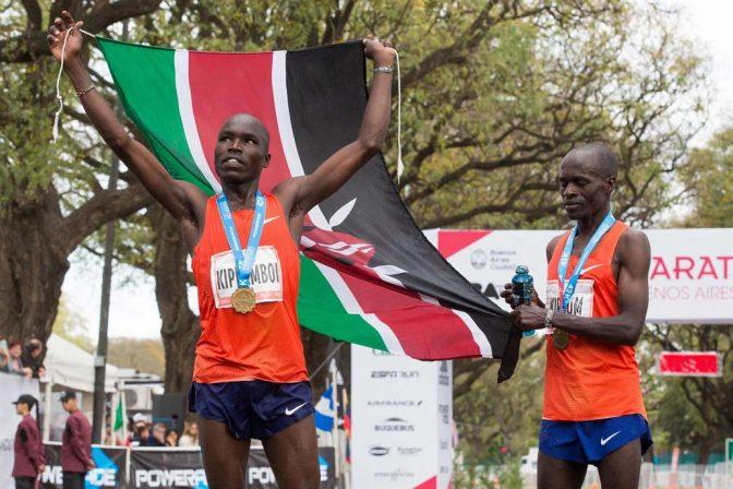 El ganador del maratón de Buenos Aires ahora impresionó en Dubai 9