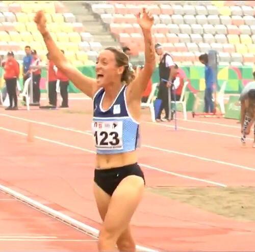 Oro para la Argentina con Florencia Borelli 1