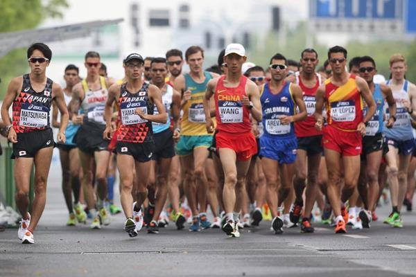 La IAAF programa importantes cambios en la marcha 1