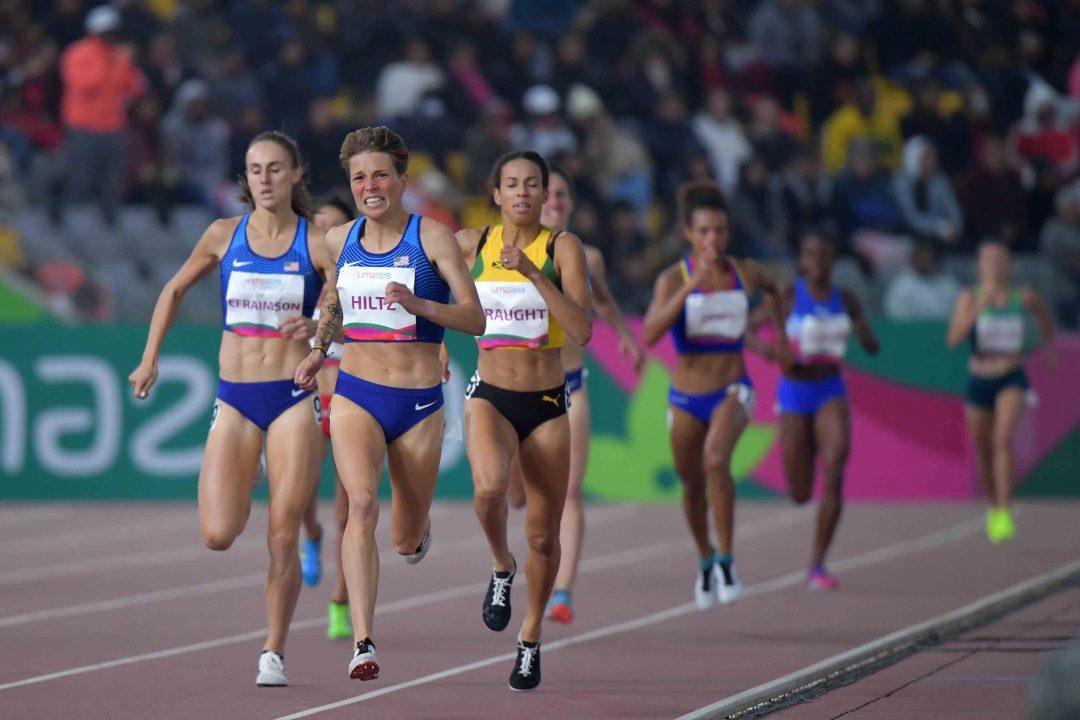 Mariana Borelli terminó 10a. en los 1.500 2