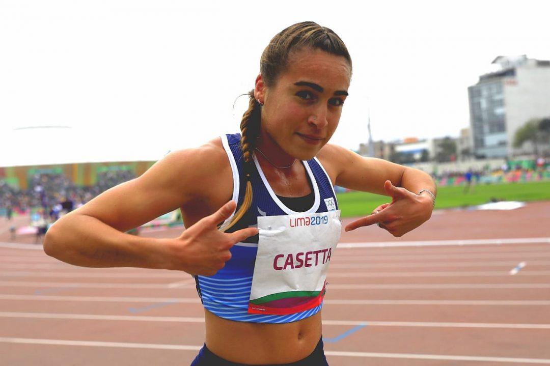 Belén Casetta, la medallista argentina en Lima 2