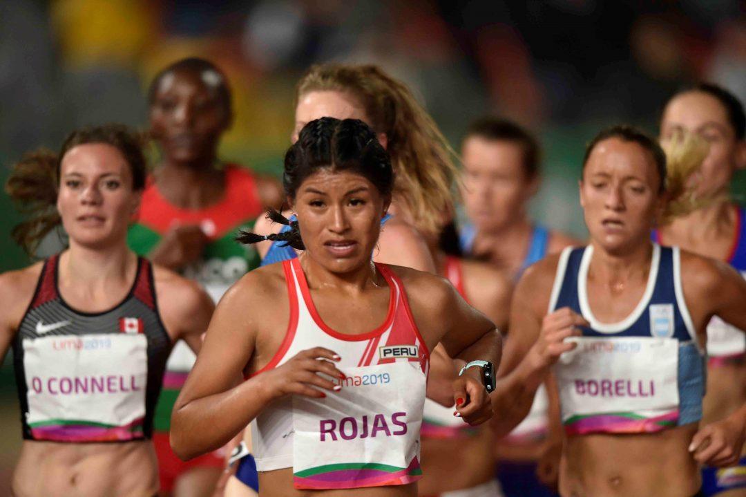 Florencia Borelli, novena en los 5.000 1