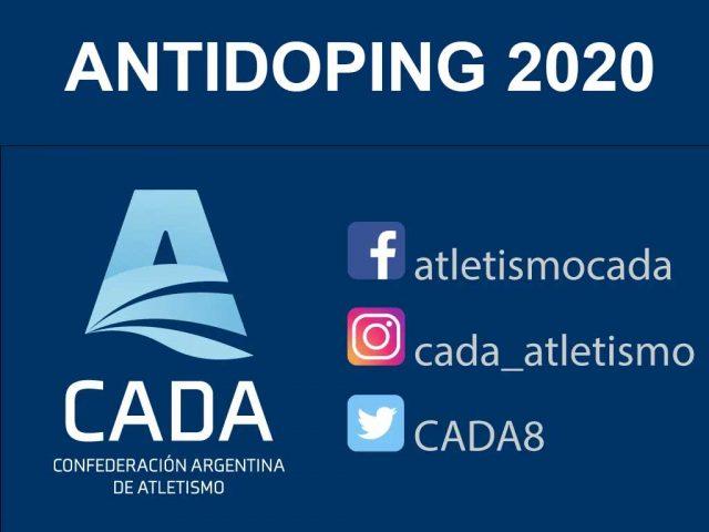 Antidoping 2020 CADA