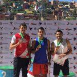 Woodward y Cossio, con récords nacionales en 100m en Cochabamba 2