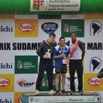 Woodward y Cossio, con récords nacionales en 100m en Cochabamba 1