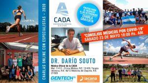 CHARLA - DR. DARÍO SOUTO COVID-19