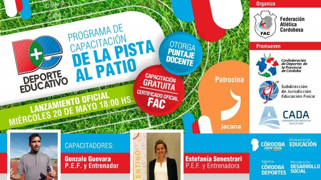 """Lanzamiento del Programa """"De la Pista al Patio"""" 1"""