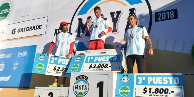 Gustavo Frencia ganó la tradicional Carrera Maya 1