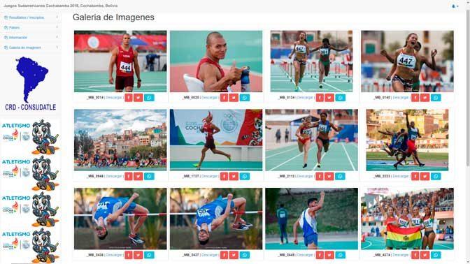 Todas las fotos de los Juegos Sudamericanos Cochabamba 2018 28