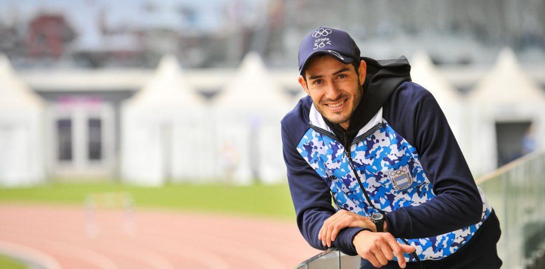 Maximiliano Díaz y el largo camino a los Juegos 2