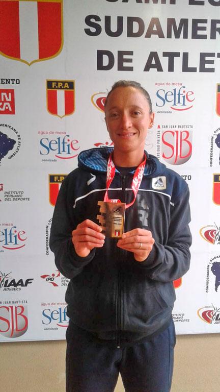 Oro para la Argentina con Florencia Borelli 5